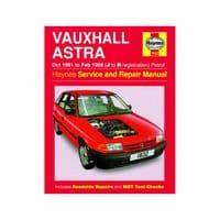 HAYNES 1832 WORKSHOP REPAIR MANUAL VAUXHALL ASTRA PETROL 1991 - 1998 J TO R